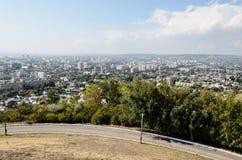 Überblickfoto der Stadt Lizenzfreie Stockfotografie