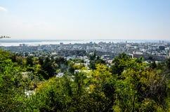 Überblickfoto der Stadt Stockbilder