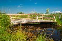 Überbrücken Sie nahe der Stadt falsches Bayersoien im Bayern Lizenzfreies Stockfoto