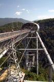Überbrücken Sie Skybridge, dessen Länge 439 Meter ist Stockfoto