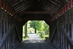 Überdachte Brücke 27 Stockfoto