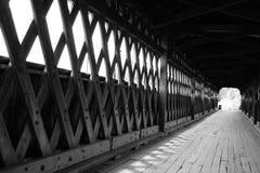 Überdachte Brücke Stockbild
