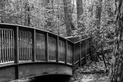 Überdachte Brücke stockbilder