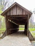 Überdachte Brücke Stockfotos