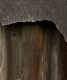 Überdachung des Filzes und des Zauns Lizenzfreies Stockbild