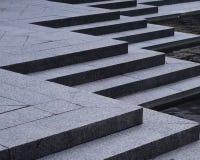 Übereinstimmende Stadtformen, -schatten und -linien Lizenzfreies Stockfoto