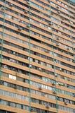 Überfüllen der verkrampften Viertel in einer Elendsviertel-Armut Lizenzfreies Stockbild