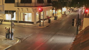 Überfahrt Duval-Straße Key West stock video footage