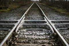 Überfahrt-Eisenbahn Stockbild
