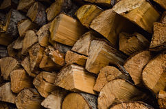 Überfluss am Brennholz Lizenzfreie Stockfotografie