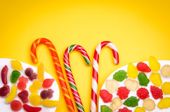 Überfluss an den Süßigkeiten Lizenzfreie Stockbilder