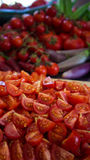 Überfluss an den Tomaten Lizenzfreie Stockbilder
