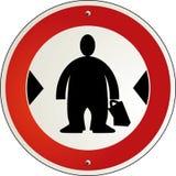 Überfluss des Gewichts lizenzfreie abbildung