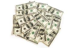 Überfluss-Geld Stockbild