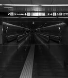 Übergang in der U-Bahn von Barcelona Stockbilder