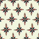 Übergeben Sie Farbenrahmen von den Blumen, die im Vektor gemacht werden Stockbild