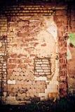 Überholte Wand des unterschiedlichen Materials Lizenzfreie Stockfotografie