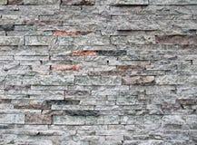 Überlagerte Steinwand Stockbild