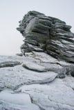 Überlagerter Felsen Stockfotos