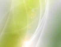 Überlappender Hintergrund der abstrakten Aurora Lizenzfreies Stockbild