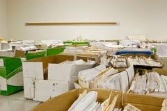 Überlastung auf Dateien Lizenzfreies Stockfoto