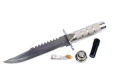 Überlebens-Messer stockfoto