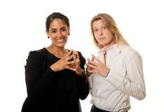 Überlegene Frauen Lizenzfreie Stockfotos
