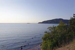 Überlegener See Stockfoto
