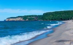 Überlegener Strand Lizenzfreie Stockfotos