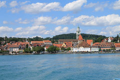 Überlingen. At Lake Constance in summer Stock Photography