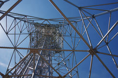 Übermittlerturm stockbild
