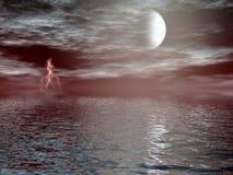 Übernatürlicher Blitz Stockfotografie