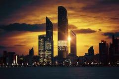 Übernatürlicher Sonnenuntergang Lizenzfreie Stockfotografie
