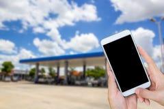 Überprüfen Sie Ölpreise, Postverwaltungs-Treibstoff, Thailand Stockbilder