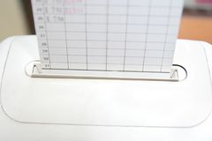 Überprüfen Sie Borduhr Lizenzfreie Stockfotografie