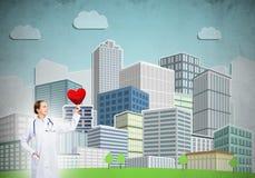 Überprüfen Sie Ihre Herzgesundheit Lizenzfreie Stockfotografie