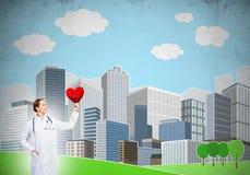 Überprüfen Sie Ihre Herzgesundheit Lizenzfreie Stockfotos