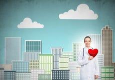 Überprüfen Sie Ihre Herzgesundheit Lizenzfreies Stockfoto