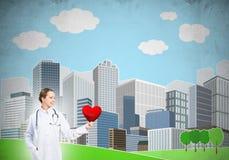 Überprüfen Sie Ihre Herzgesundheit Stockfotografie