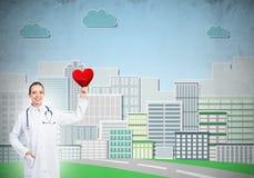 Überprüfen Sie Ihre Herzgesundheit Stockfotos