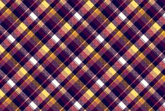 Überprüfen Sie nahtloses Muster der Pixelgewebe-Beschaffenheit Lizenzfreie Stockfotografie