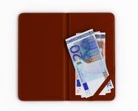 Überprüfen Sie Ordner mit Euro Stockfotografie