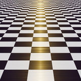 Überprüfter Fußboden Stockbilder