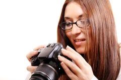 Überprüfung der Digitalkamera Lizenzfreie Stockbilder
