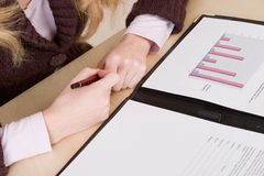 Überprüfung der Monatsabbildungen Stockfotos