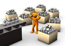 Überproduktion Lizenzfreie Stockbilder