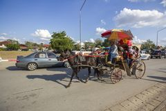 Überraschende Lampang-Provinz, Thailand stockfotografie