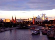Überraschende Moskau-Ansicht stockfoto