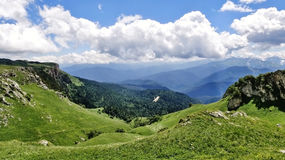 Überraschender Kaukasus Lizenzfreie Stockfotos