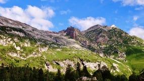 Überraschender Kaukasus Stockfotos